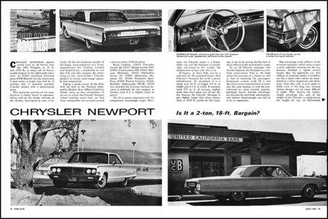 Технические характеристики Chrysler Newport - Каменный лес Stone Forest