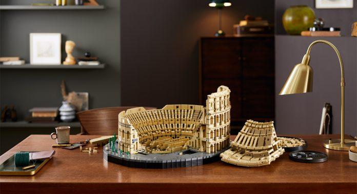 Lego Colosseum - Каменный лес Stone Forest