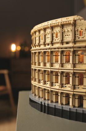Lego колизей Colosseum - Каменный лес Stone Forest
