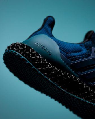 Обувь Packer x adidas Consortium Ultra 4D - Каменный лес Stone Forest
