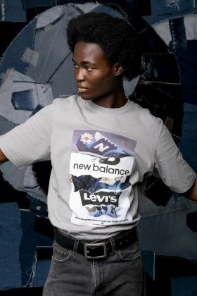 Одежда Levis x New Balance - Каменный лес Stone Forest