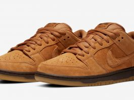 Nike SB Dunk Low Pro 'Wheat' - Каменный лес Stone Forest