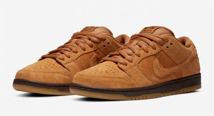 Nike SB Dunk Low Pro 'Wheat' - Каменный лес Stone Forest