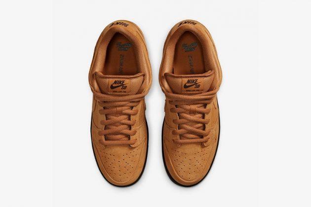 Кроссовки Nike SB Dunk Low Pro 'Wheat' - Каменный лес Stone Forest