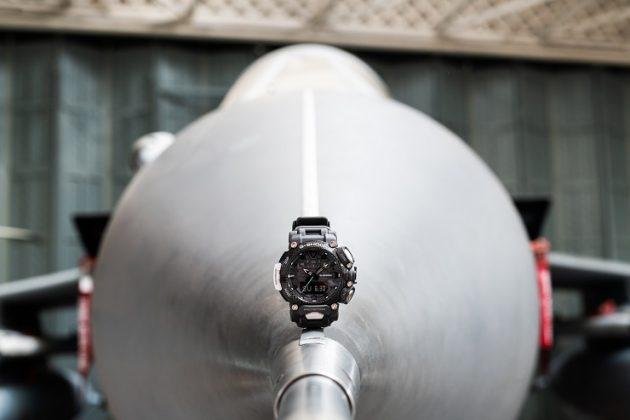 Часы Royal Air Force x G-SHOCK GRAVITYMASTER - Каменный лес Stone Forest
