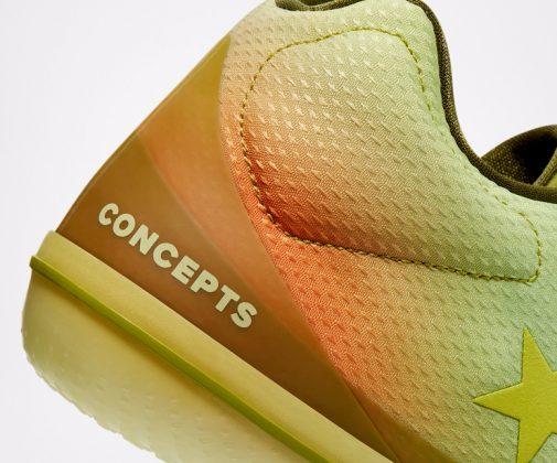 Кроссовки Converse x Concepts - Каменный лес Stone Forest