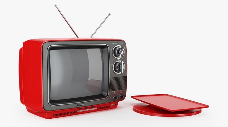 Старый телевизор Toshiba - Каменный лес Stone Forest