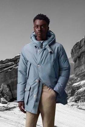 Куртка Woolrich FW 2021 - Каменный лес Stone Forest