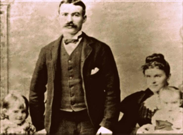 Джеймс Коннолли с семьей - Каменный лес Stone Forest