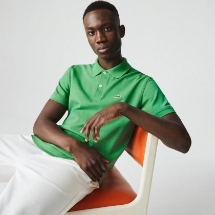 Поло Lacoste The New Classic Polo - Каменный лес Stone Forest