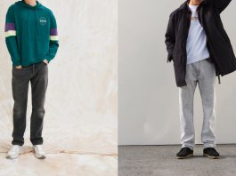 Levis 551 Z Authentic Straight - Каменный лес Stone Forest