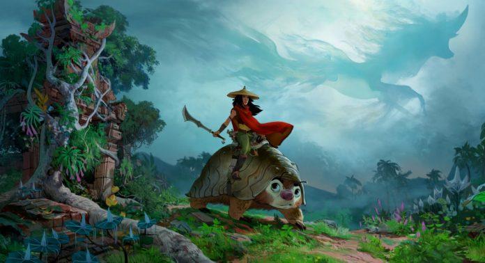 Райя и последний дракон - Каменный лес Stone Forest