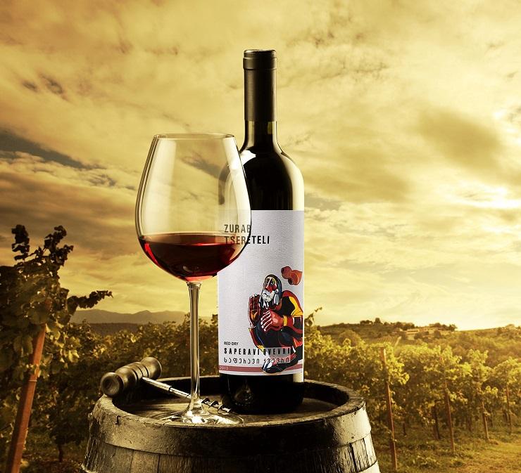 Вино Zurab Tsereteli от Tsereteli Winery - Каменный лес Stone Forest