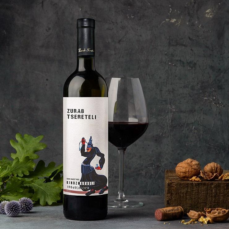 Грузинское вино Zurab Tsereteli от Tsereteli Winery - Каменный лес Stone Forest