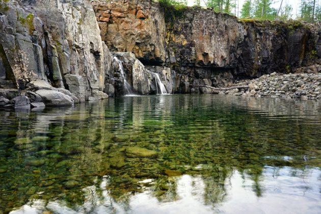 Плато Путорана - Каменный лес Stone Forest