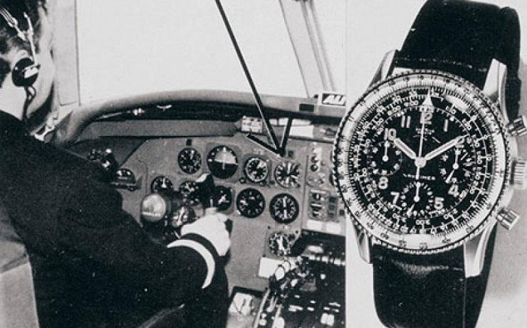Часы для пилотов Breitling - Каменный лес Stone Forest