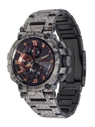 Наручные часы Casio G-SHOCK MT-G-B1000WLP-1 - Каменный лес Stone Forest
