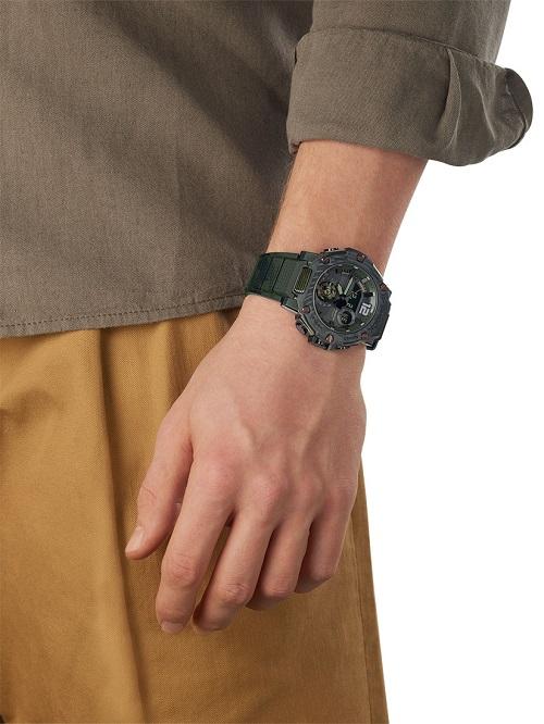 Часы Casio G-Shock GST-B300 - Каменный лес Stone Forest
