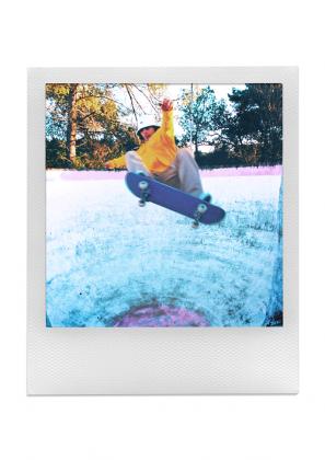 Коллаборация Lacoste x Polaroid - Каменный лес Stone Forest
