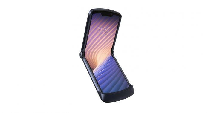 Смартфон Motorola razr 5G - Каменный лес Stone Forest