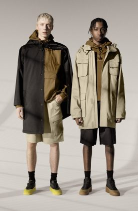 Одежда PUMA Maison Kitsune - Каменный лес Stone Forest