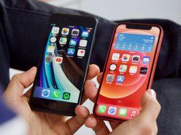 iPhone 12 128 Гб и iPhone SE