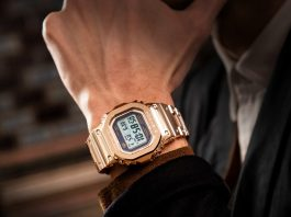 Casio G-SHOCK Gold Ingot - Каменный лес Stone Forest