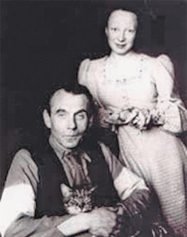 Луи-Фердинанд Селин с дочерью Колетт - Каменный лес Stone Forest