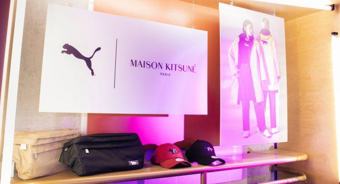 Вечеринка PUMA X MAISON KITSUNÉ состоялась в BRANDSHOP