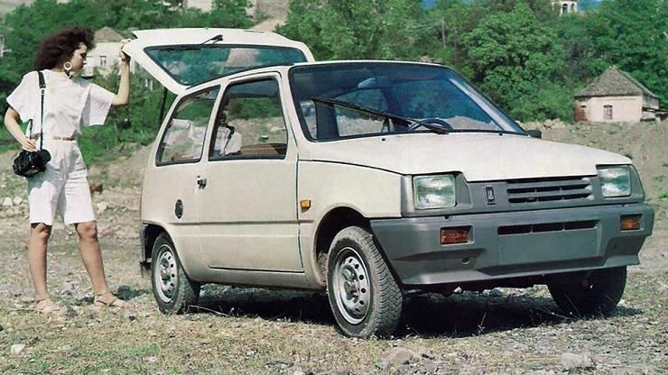 Авто ВАЗ-1111 - Каменный лес Stone Forest