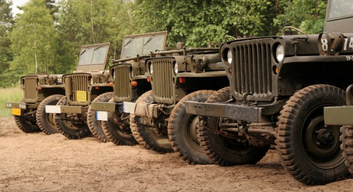 Jeep Willys - Каменный лес Stone Forest
