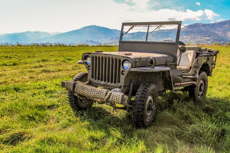Внедорожник Jeep Willys - Каменный лес Stone Forest