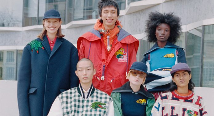 Lacoste AW21 - Каменный лес Stone Forest