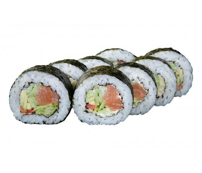 Роллы суши Футомаки с лососем - TOMAXA