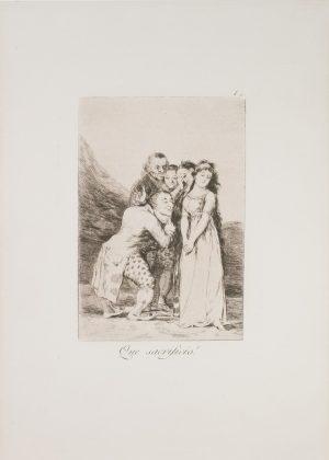 Выставка Тайные пороки Гойя и Дали в Altmans Gallery - Каменный лес Stone Forest