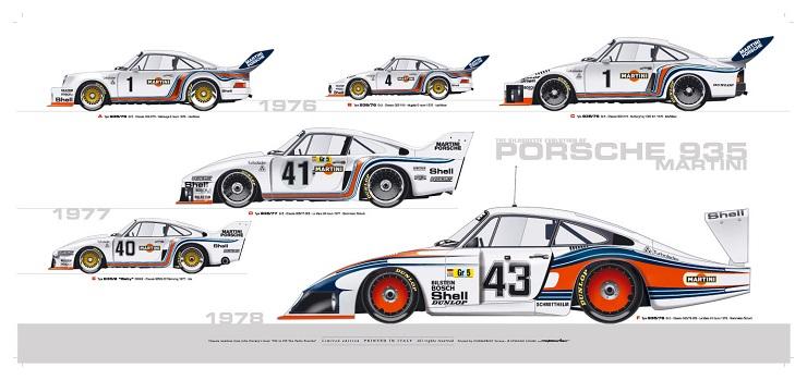 Автомобиль Porsche 935 - Каменный лес Stone Forest