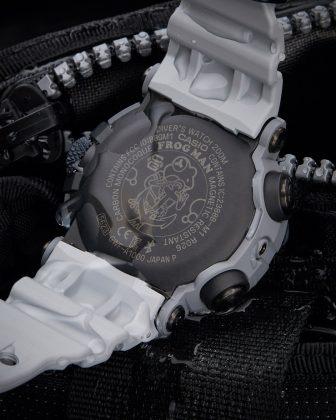 Часы Royal Navy x G-SHOCK FROGMAN - Каменный лес Stone Forest