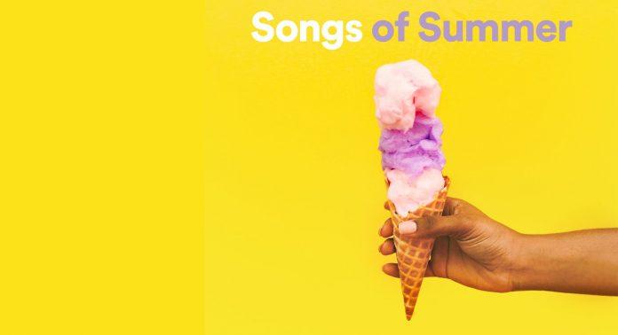 Лучшие треки лета 2021 году от Spotify