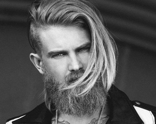 андеркат на средние или длинные волосы
