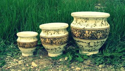 Шамот керамическая посуда - Каменный лес Stone Forest