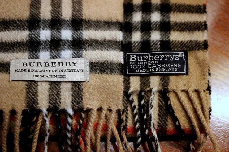 Шарфы Burberry - Каменный лес Stone Forest