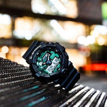 Casio G-Shock GA-700MG-1AER - Каменный лес Stone Forest