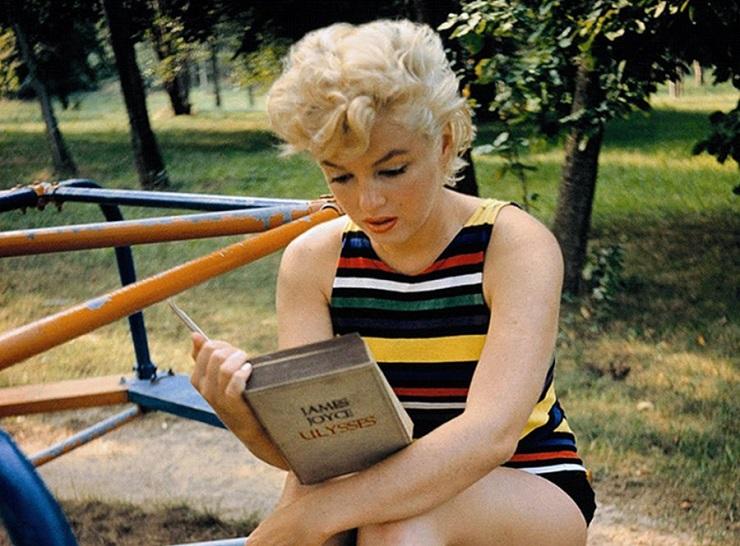 Мэрилин Монро читает Джеймса Джойса - Каменный лес Stone Forest