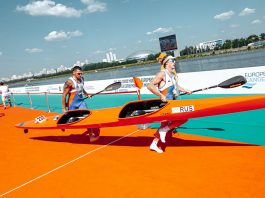 Сборная России завоевала четыре медали чемпионата Европы по каноэ-марафону в Москве