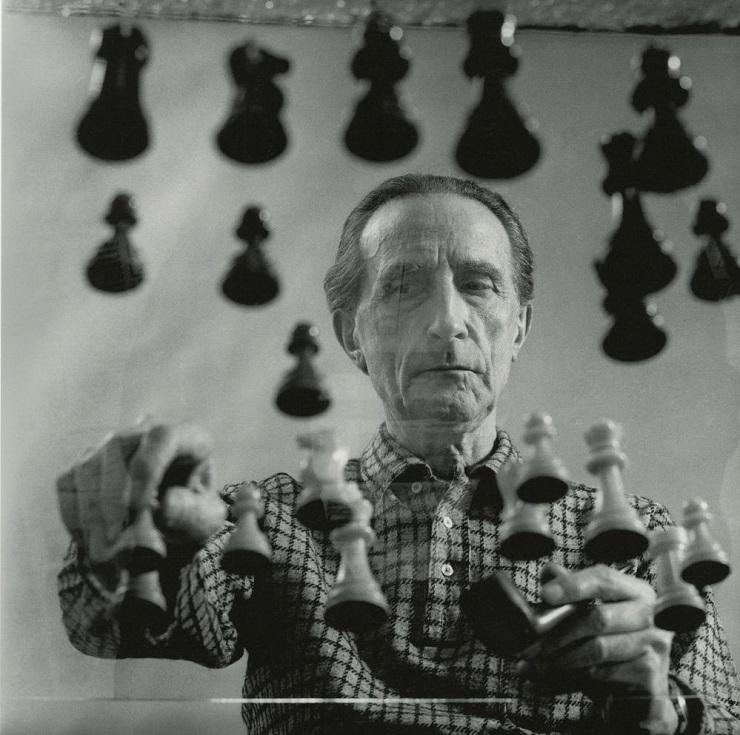 Шахматист Марсель Дюшан - Каменный лес Stone Forest
