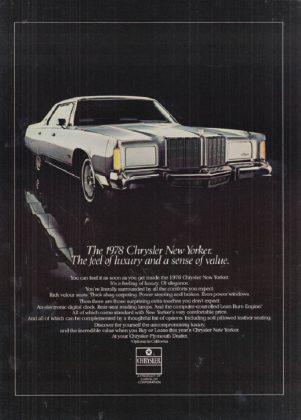Машина Chrysler New Yorker - Каменный лес Stone Forest