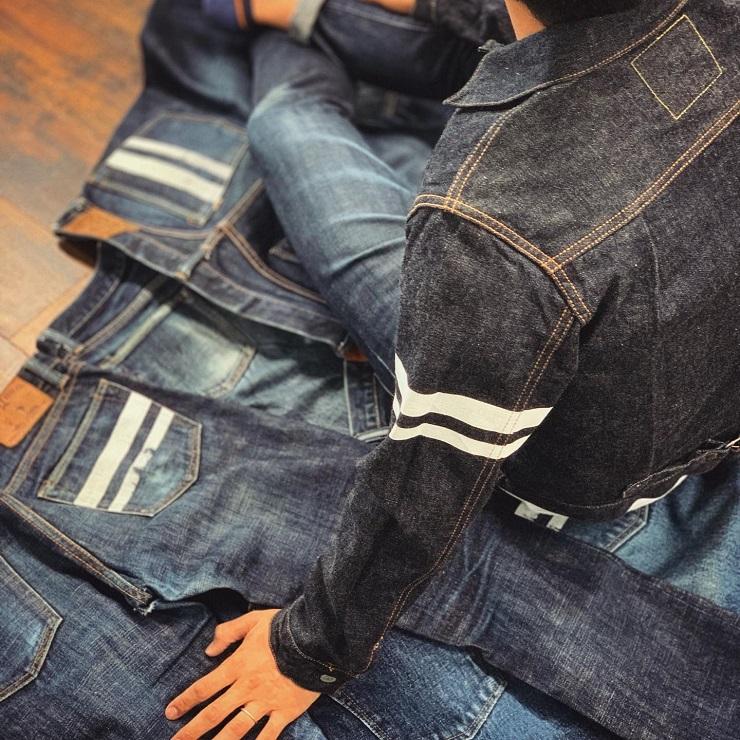 Одежда Momotaro Jeans - Каменный лес Stone Forest
