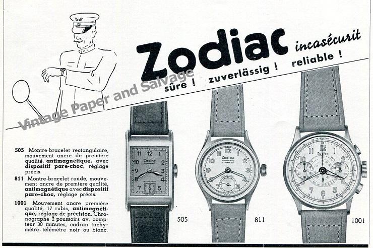 Часы Zodiac - Каменный лес Stone Forest