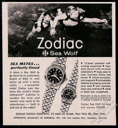 Часы Zodiac Sea Wolf - Каменный лес Stone Forest
