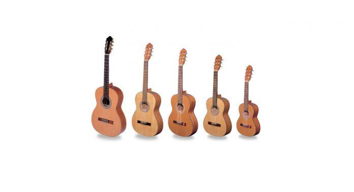 Акустическая гитара: формы и материал изготовления